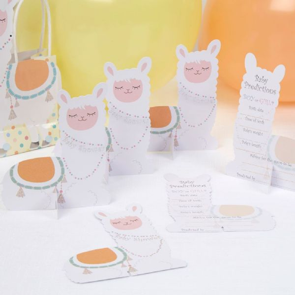 Llama Love Baby Prediction Cards (10)